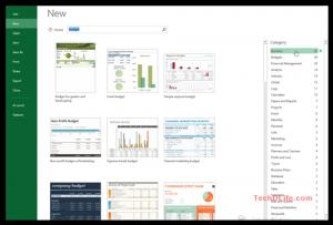 Excel Template สวยและฟรีมีในโลก