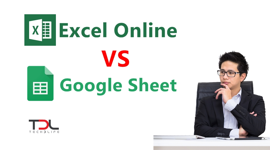 Excel Online(ฟรีเวอร์ชั่น) VS Google Sheet